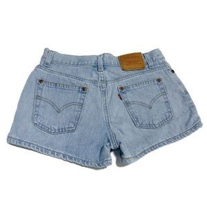 Vintage Levi's Button Fly Shorts 5 JR / 28